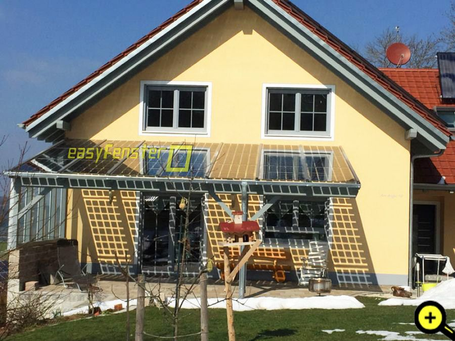 Referenzen fotos von dachverglasungen mit systemprofilen - Easy wintergarten ...