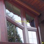 Holzfenster-Verkleidung-Aluminium
