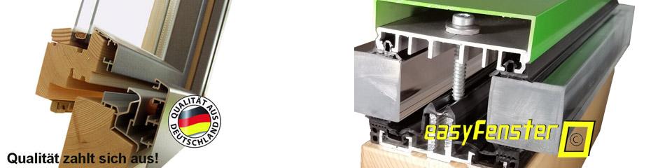 qualit t von easyfenster dem profi f r aluminiumsysteme. Black Bedroom Furniture Sets. Home Design Ideas