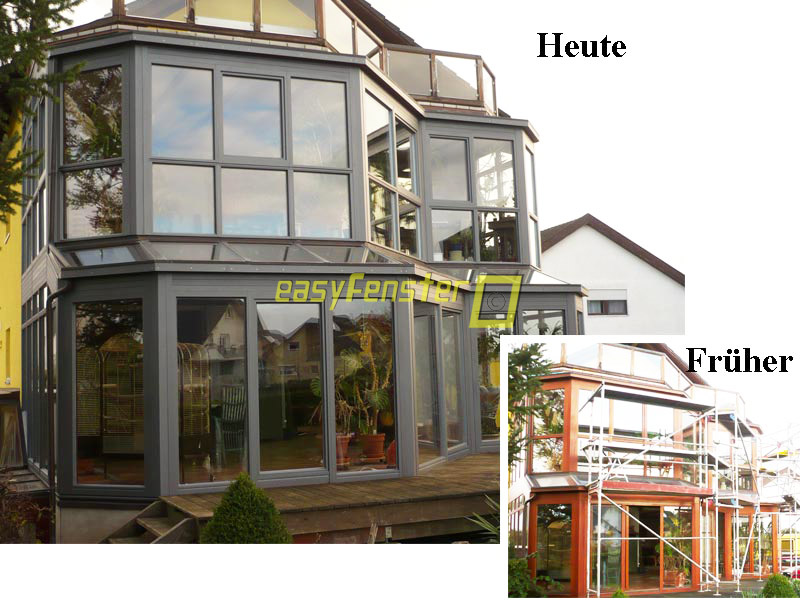 Easyfenster aluprofile aluverlegeprofile f r holzfenster - Aluprofile wintergarten ...