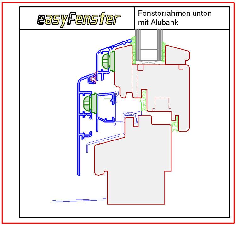 fensterverkleidungen aluverkleidungen details detailschnitte. Black Bedroom Furniture Sets. Home Design Ideas