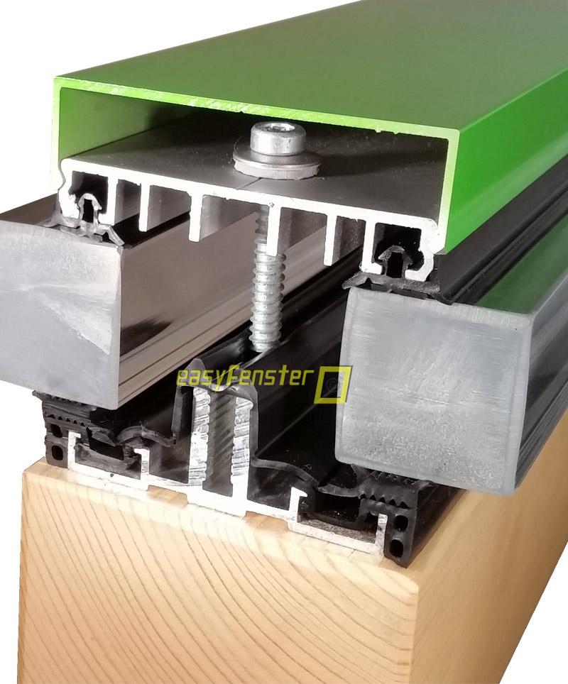 verlegeprofile verglasungsprofile f r wintergarten und glasassade. Black Bedroom Furniture Sets. Home Design Ideas