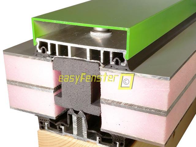 easyfenster aluprofile aluverlegeprofile f r holzfenster. Black Bedroom Furniture Sets. Home Design Ideas